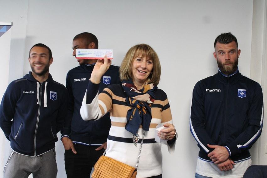 Le Groupe JEANNIN Automobiles investit les locaux de l'AJ Auxerre pour sa journée « entreprise »