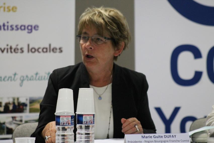 Marie-Guite DUFAY encourage le développement économique sur le Tonnerrois