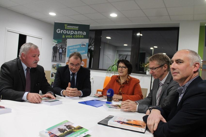 Deux leaders du monde agricole (FNSEA et GROUPAMA) se rencontrent : rien que du positif au menu !