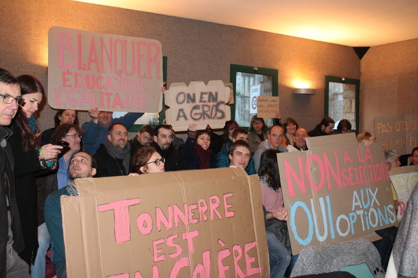 Le Département fait bloc contre la suppression d'un cursus pédagogique qui pénalise le lycée d'Eon à Tonnerre
