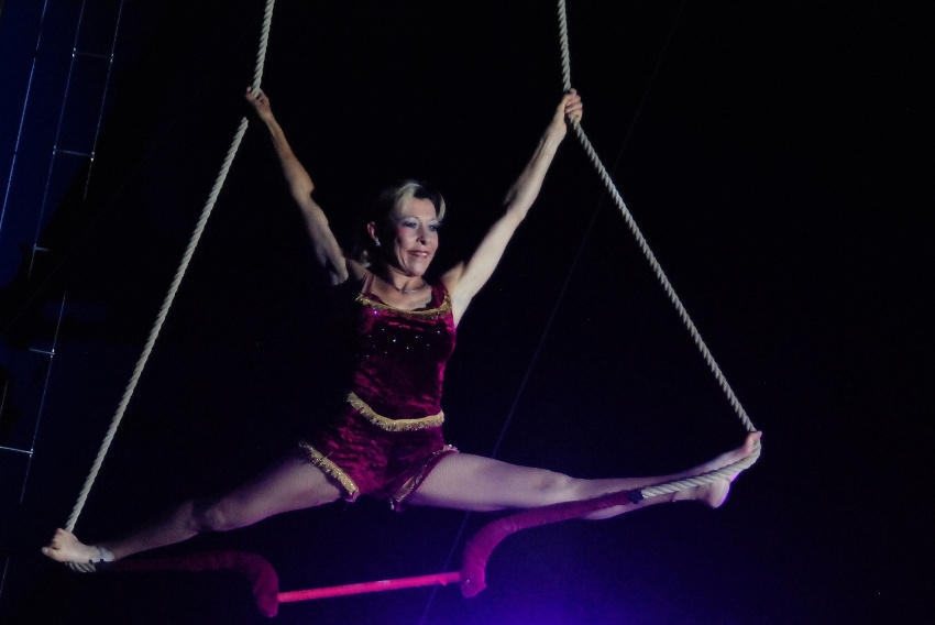 Le Cirque Star reprend du service et assure ses représentations : après la pluie vient le beau temps…