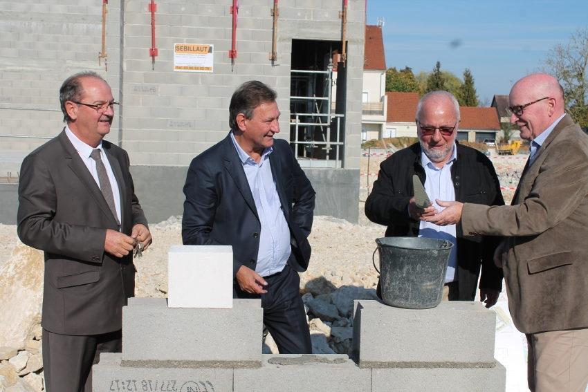 Le 2ème « Village Bleu » de l'Yonne sort de terre à Monéteau : il favorisera l'accueil des seniors…