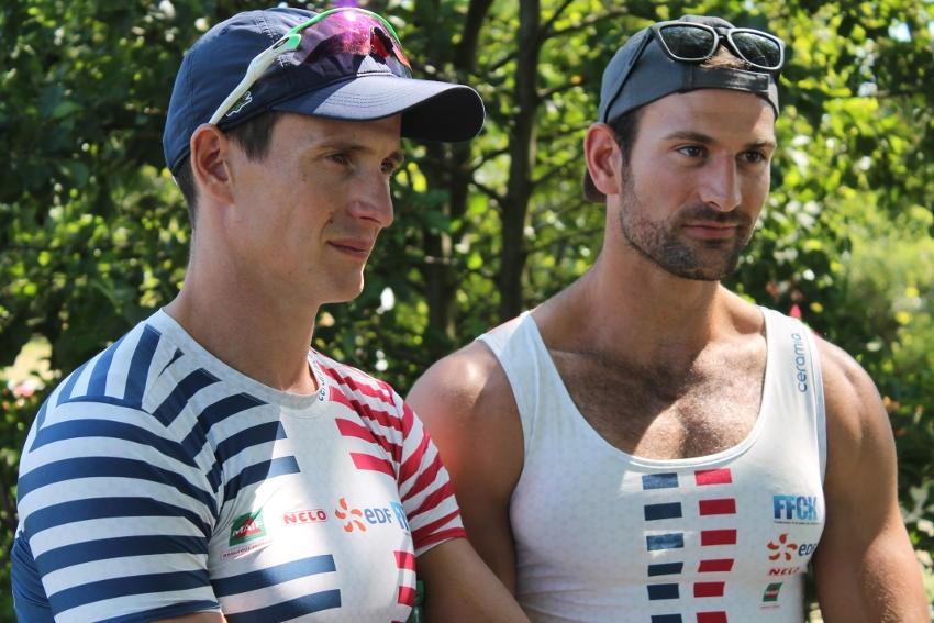Canoë-Kayak : le Graal au bout de la ligne d'eau mondiale pour Cyrille CARRE et Francis MOUGET ?