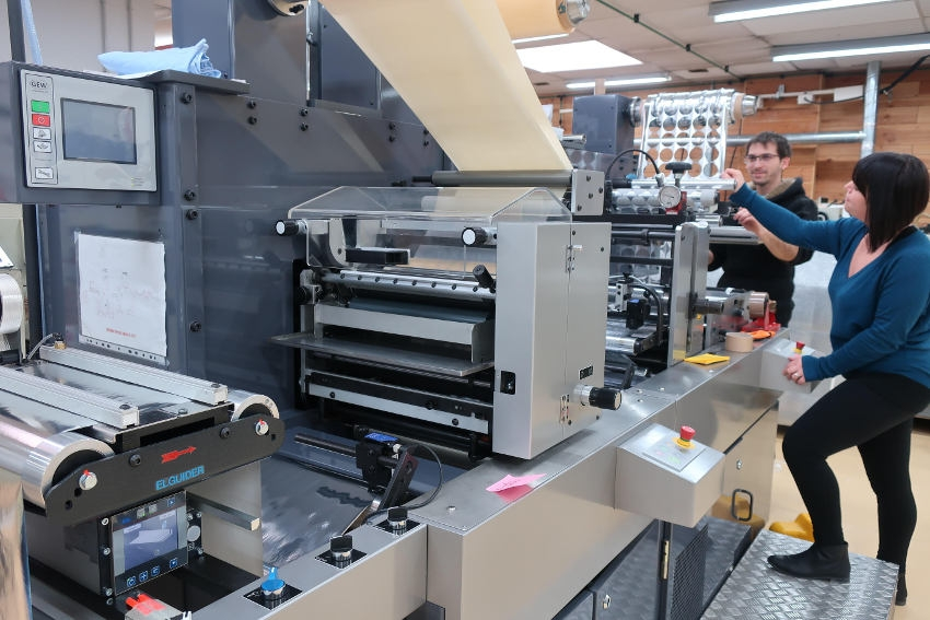 BRAIZAT Etiquettes investit 400 000 euros dans une presse à imprimer…