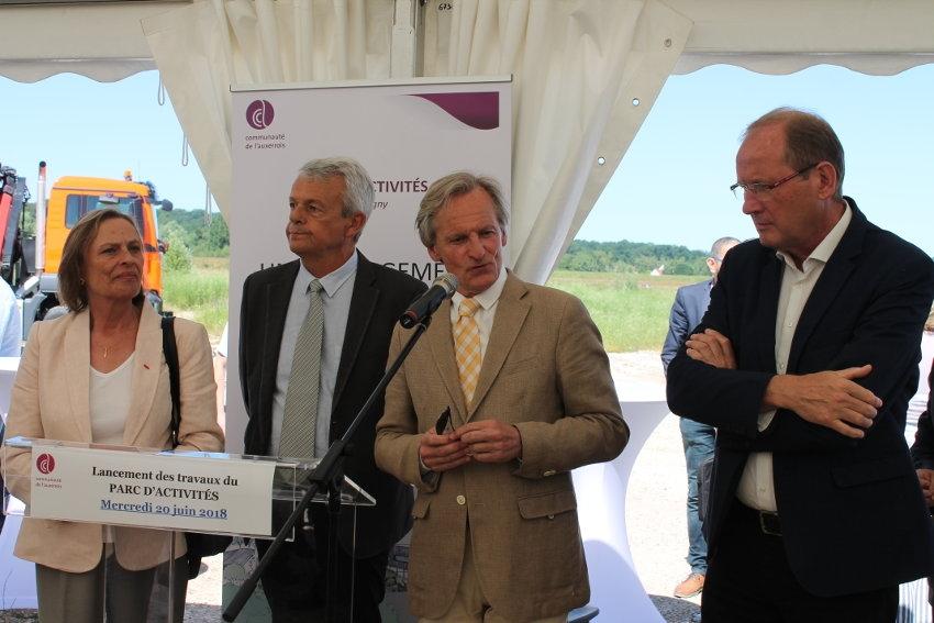 Parc d'activités de l'Auxerrois : l'accueil de structures à forte valeur ajoutée est favorisé pour Guy FEREZ (Ville d'Auxerre)