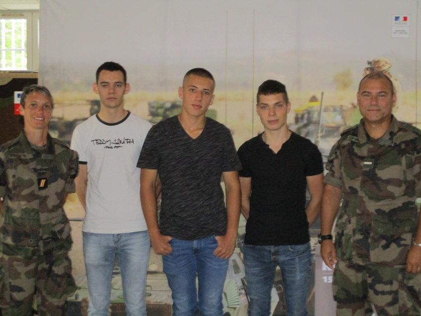 Vivre une expérience professionnelle au sein de l'Armée de terre convainc de plus en plus de jeunes Icaunais…