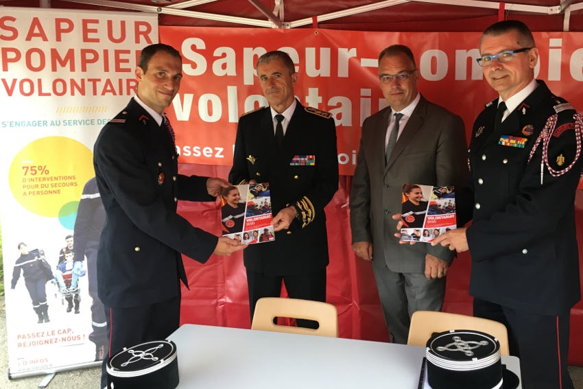 Le SDIS 89 perd l'un de ses brillants éléments, le capitaine Christophe DI GIROLAMO, promu commandant à Lille…