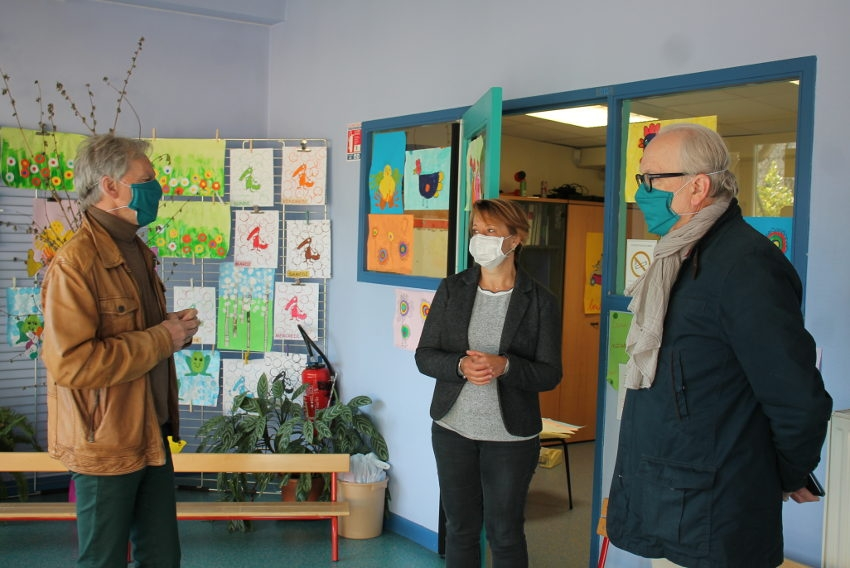 Une poignée de scolaires retourne en classes : un petit air de bonheur rafraîchissant souffle sur Auxerre…