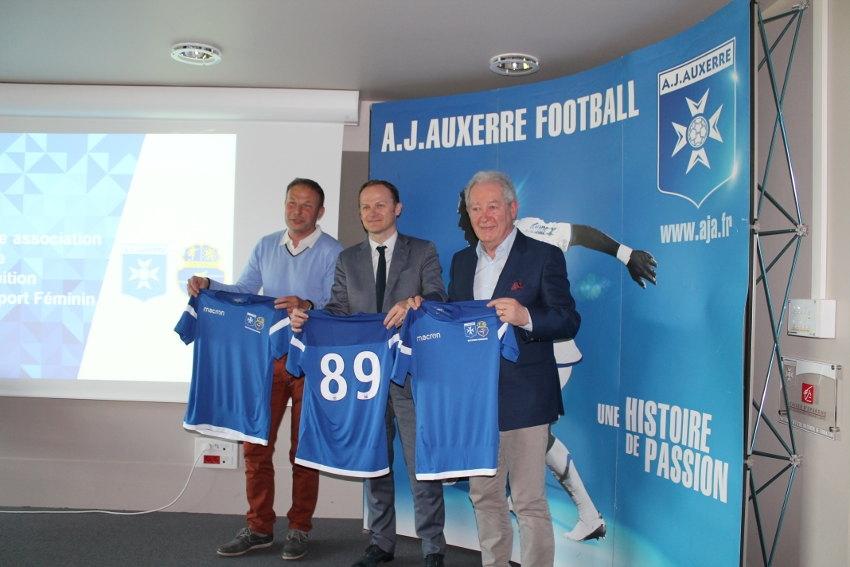 L'AJ Auxerre et le Stade Auxerrois, unis pour promouvoir le développement du football féminin dans l'Yonne