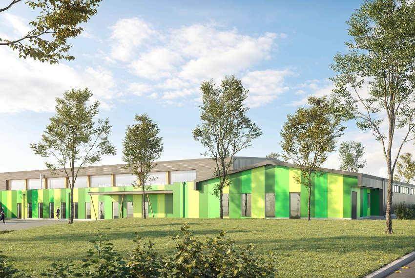 Le gymnase de Montholon se relooke : la structure sera au top pour les adeptes des sports d'intérieur