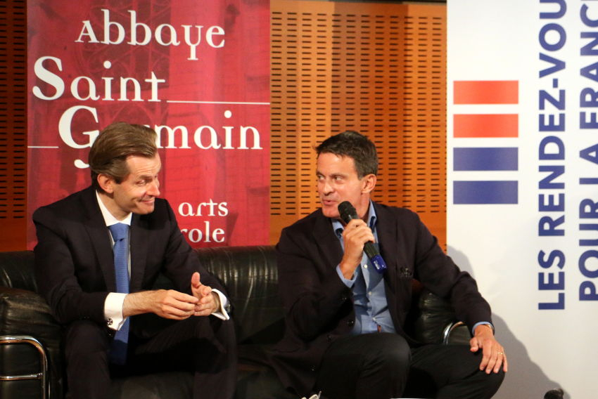 Des « conversations démocratiques » entre républicains des deux rives : l'Abbaye Saint-Germain accueille la parole libérée…