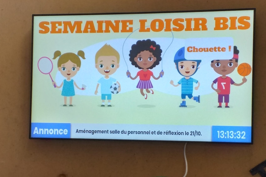 L'IME Les Isles EPNAK modernise sa communication : écrans et bornes au service de tous !