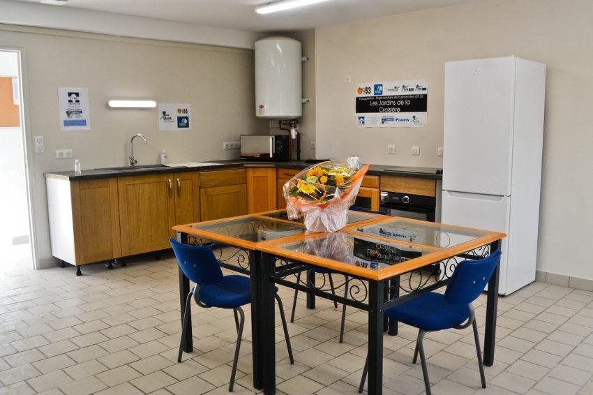 Le confort des résidents s'améliore aux Jardins de la Croisière : une salle de repos pour souffler un peu !