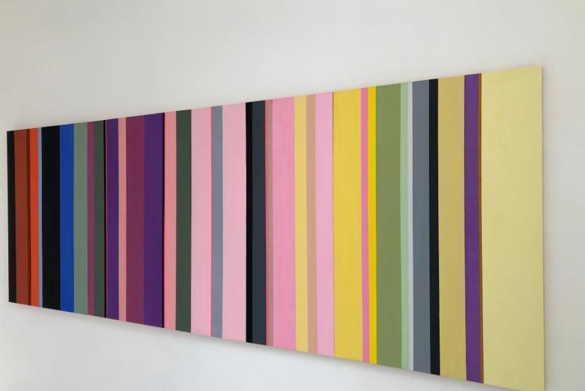 L'art pictural d'Annie Paule THOREL se découvre chez Hors Cadre : une symphonie colorée en plusieurs mouvements