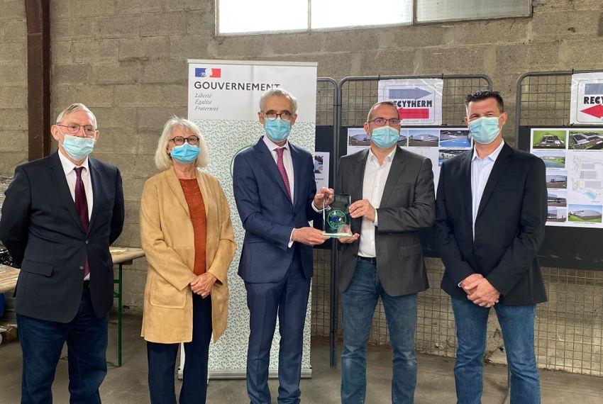 Le recyclage des matières plastiques est sa spécialité : RECYTHERM reçoit 281 124 euros d'aides de l'Etat