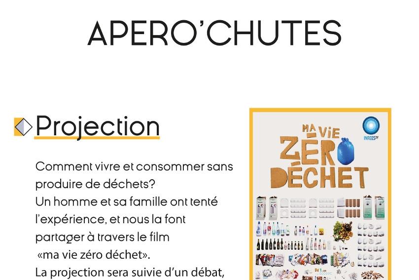 AU BONHEUR DES CHUTES diffusera le documentaire « Ma vie zéro déchet » au Tiers-lieu Les Riverains