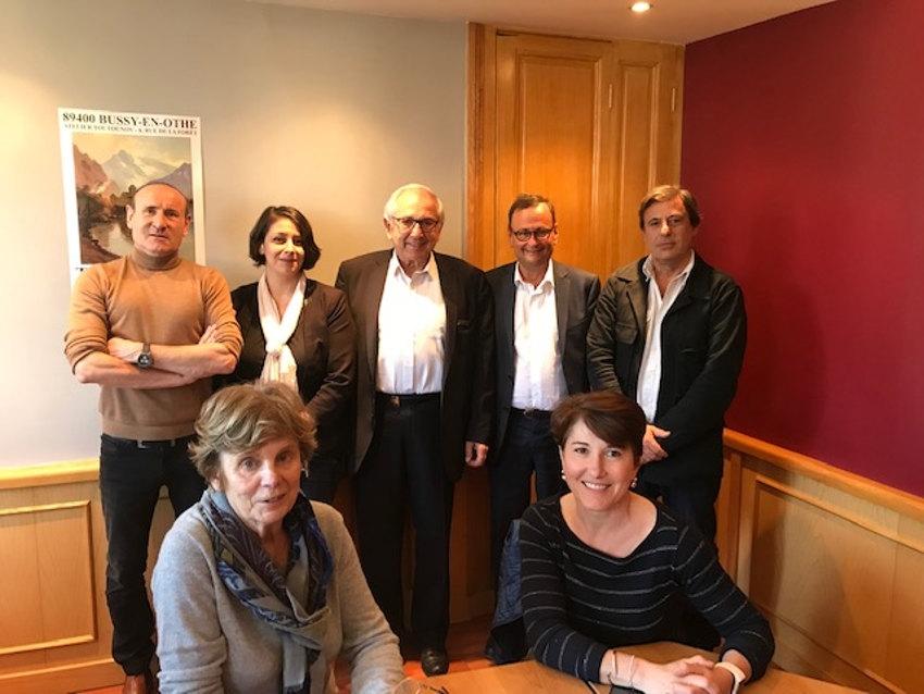Quatre mousquetaires progressistes (LREM, MODEM, AGIR et MRSL) s'unissent en faveur d'une Europe forte dans l'Yonne