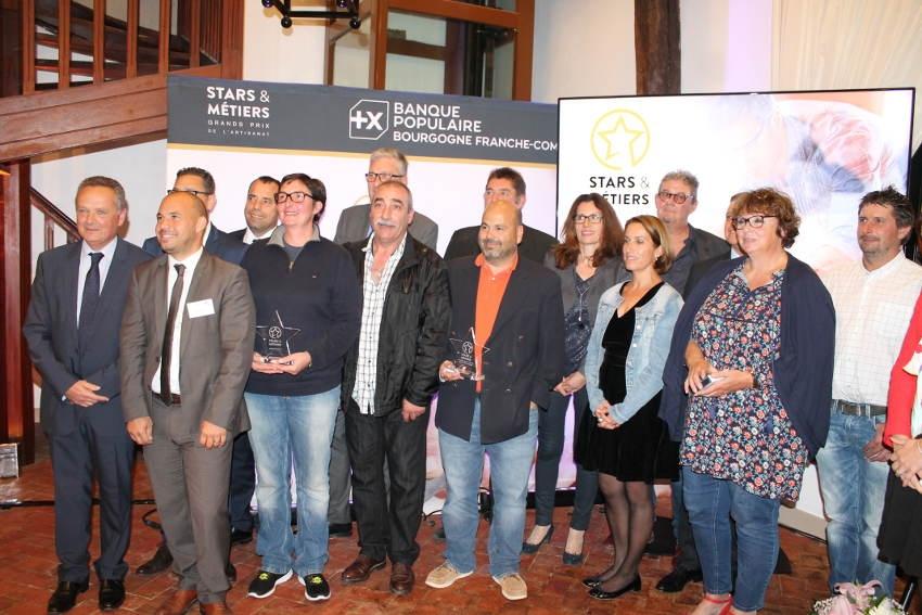 Les Prix Stars & Métiers honorent quatre chefs d'entreprises de l'Yonne pour leur excellence artisanale