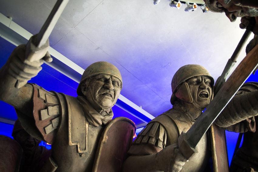 Le site pourrait rouvrir ses portes le 15 février : MUSEO PARC Alésia va dévoiler sa nouvelle scénographie