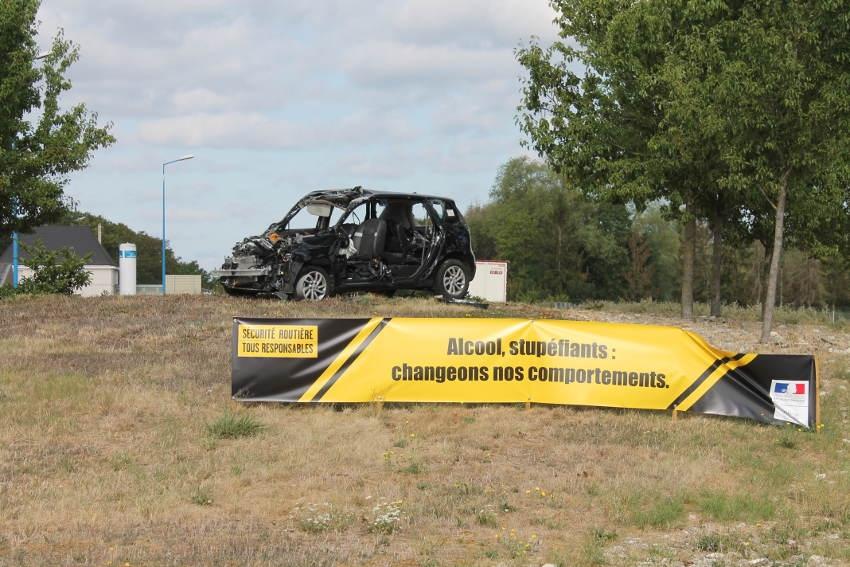 Sécurité routière : un message choc plus fort que la pub !