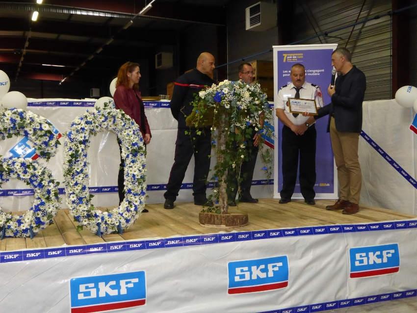 Le double effet salvateur de SKF : l'industriel s'engage en faveur de la sécurité routière et des pompiers volontaires