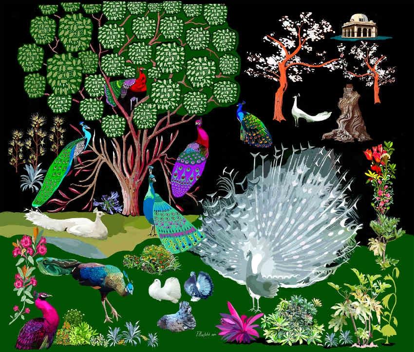 La vie animalière magnifiée par le peintre François BACHELOT…