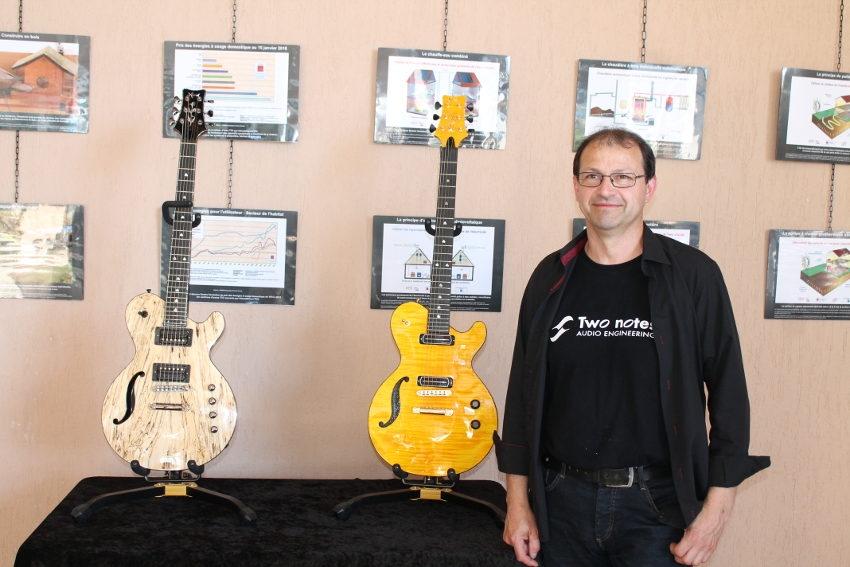 Le créateur de guitares Yves MION décroche deux précieux sésames saluant son travail…