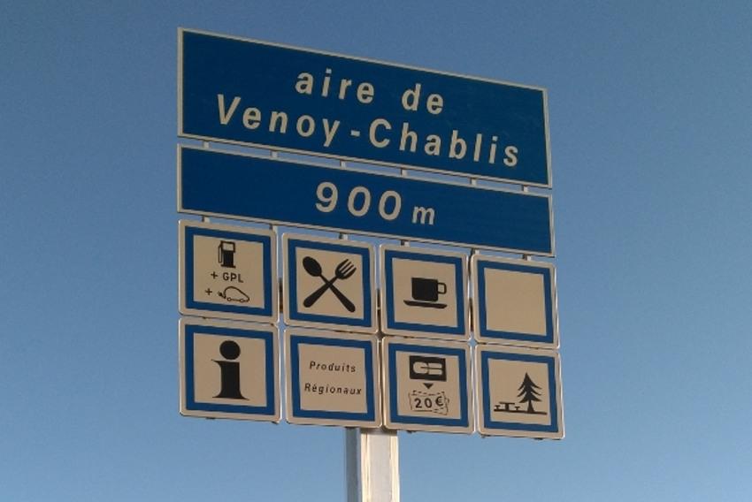 L'aire de service de VENOY Grosse-Pierre débaptisée : VENOY-Chablis apportera davantage de valeur ajoutée…