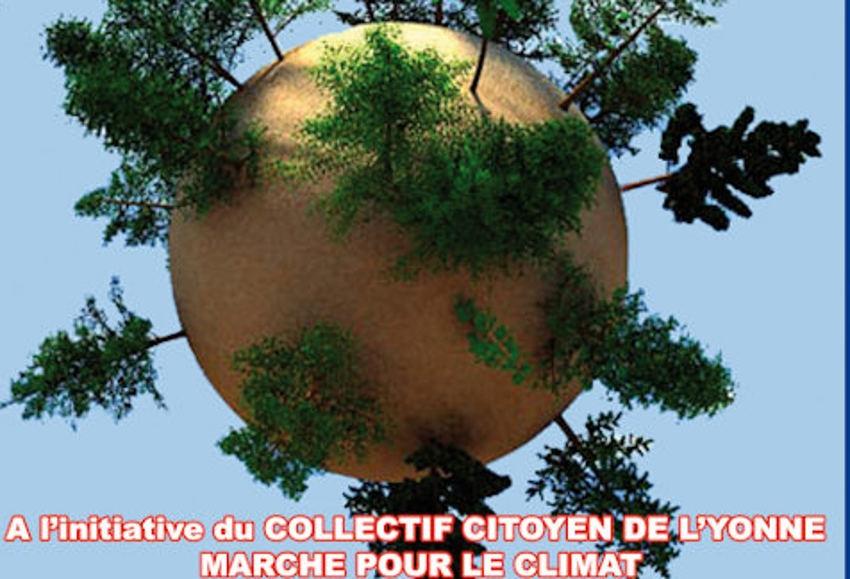 Le Collectif citoyen de l'Yonne Marche pour le Climat veut faire entendre sa voix le 28 mars