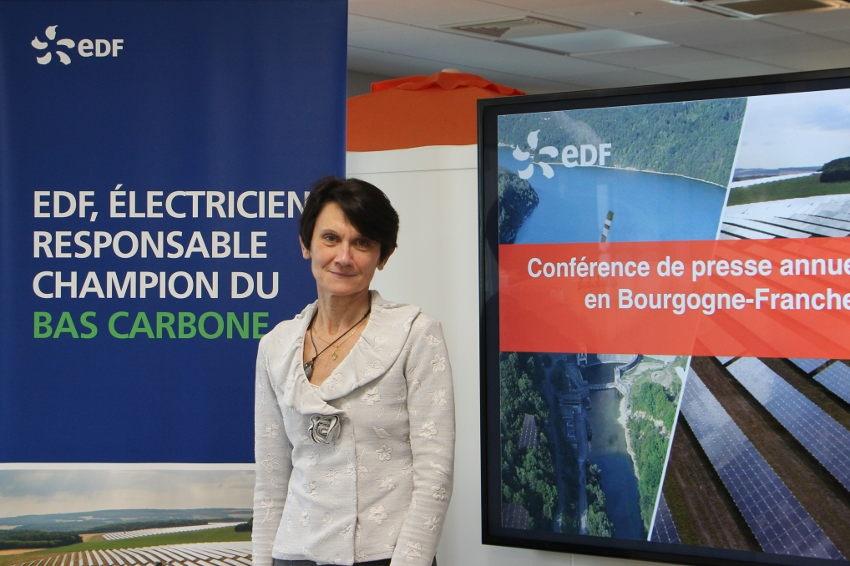 EDF Bourgogne Franche-Comté : une année de rebond, riche et prometteuse en projets…