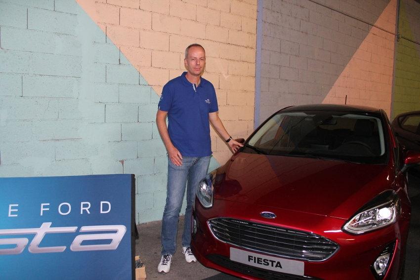 Le groupe AMPLITUDE célèbre le lancement de la neuvième génération de la Ford Fiesta