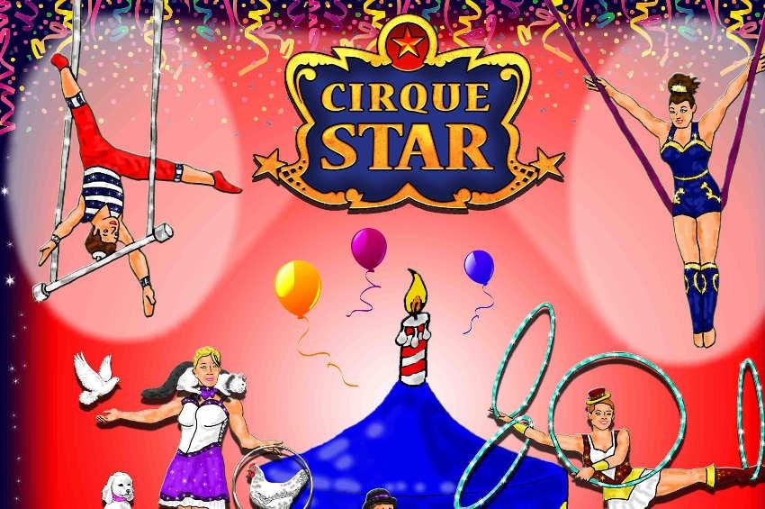 En représentation pour ses vingt ans d'existence : le Cirque STAR commence sa fiesta estivale…