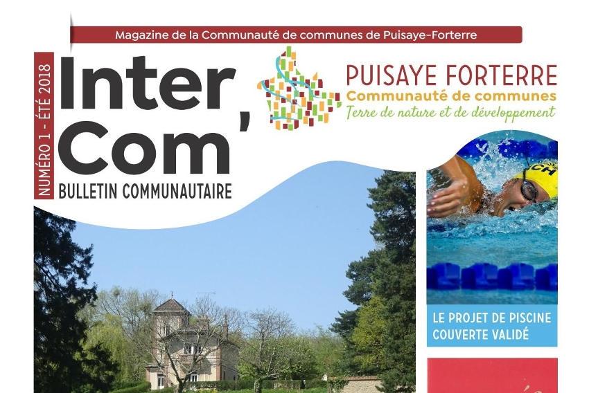 Puisaye Forterre : l'information communautaire se diffuse dans tous les foyers grâce à « InterCom' »…