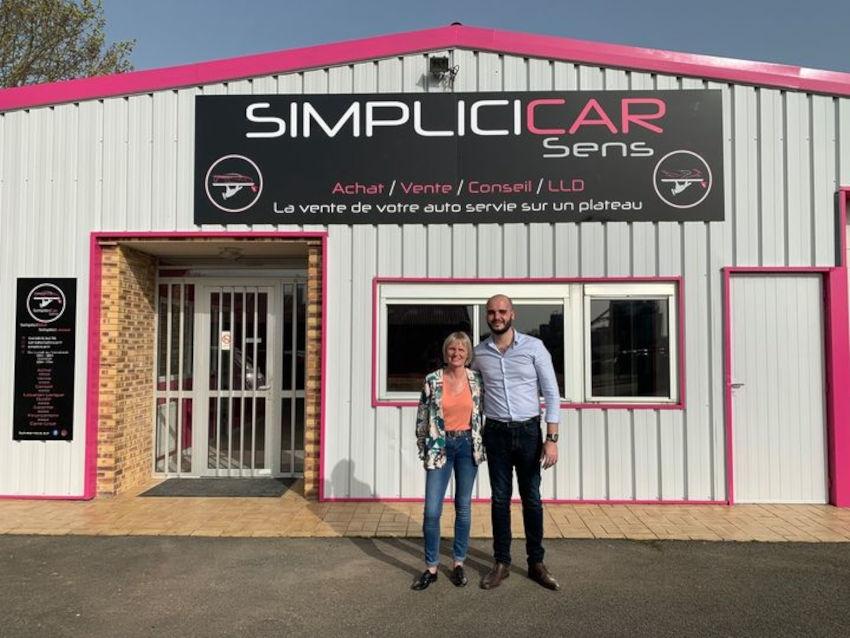 La franchise s'installe à Sens : vendre son automobile d'occasion, c'est simple comme SIMPLICI CAR !