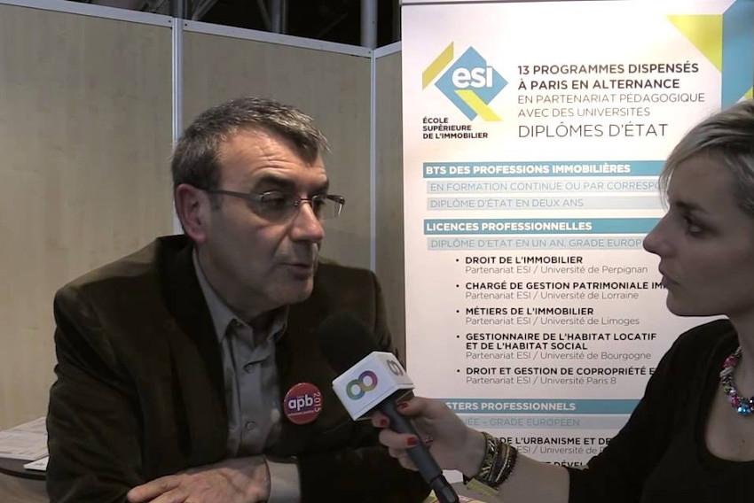 Thierry CHEMINANT (Ecole Supérieure de l'Immobilier) : « La formation n'est jamais une perte de temps… »