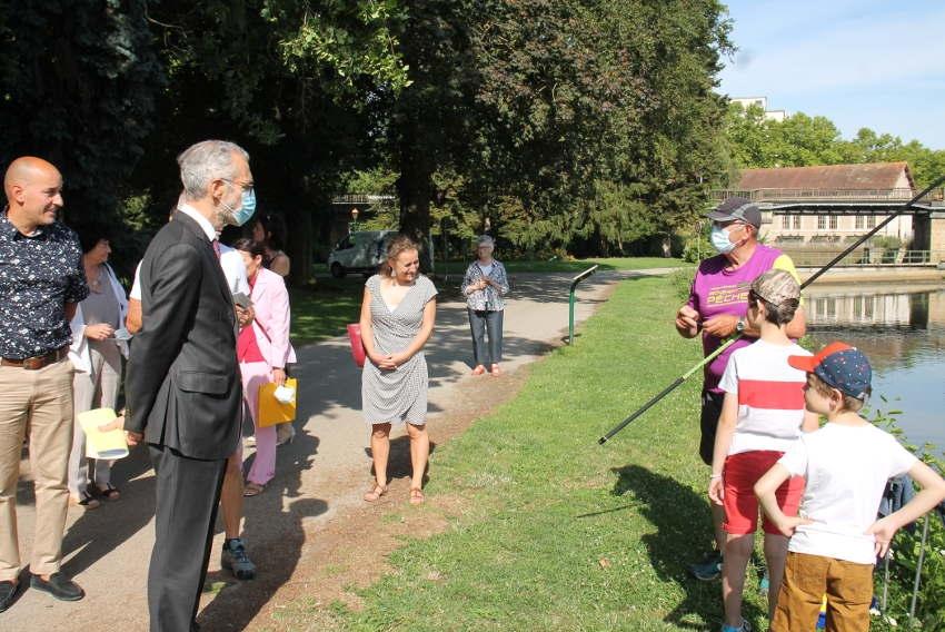 Gage d'apprentissage et de cohésion sociale : le préfet de l'Yonne salue la pertinence de « Green Stadium »