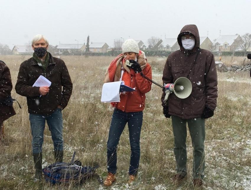 Leurs voix se font entendre : la détermination sans faille des écologistes pour préserver la nature aux PIEDALLOUES…
