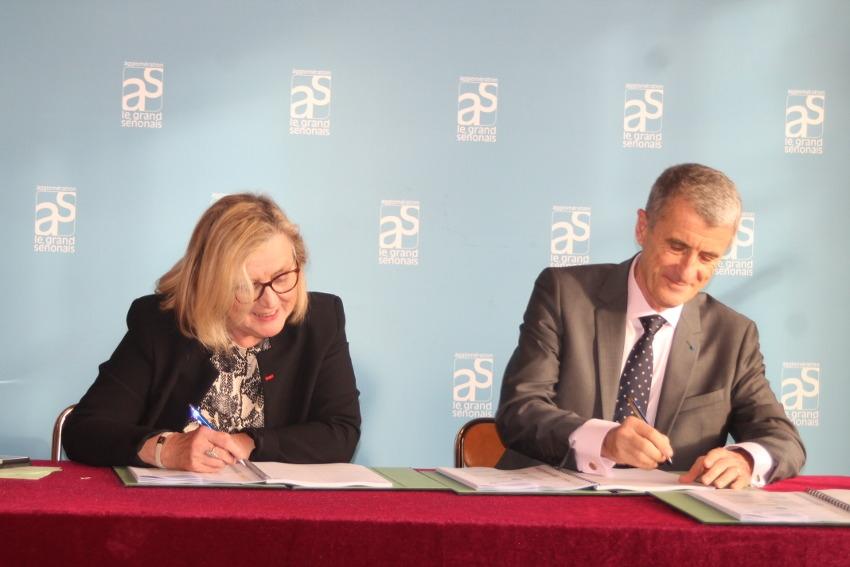 La « der » de Patrice LATRON : le préfet de l'Yonne cautionne la convention NPNRU à Sens