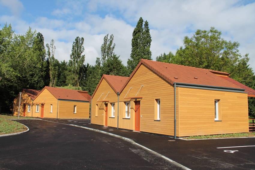 Les six pavillons du CLOS du PARC accueilleront des résidents autonomes…