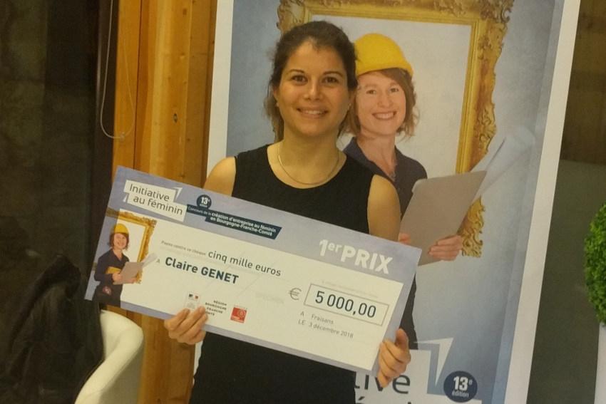 Le chiffre 13 sourit à Claire GENET (La Ferme d'Ultéria) lauréate du concours « Initiative au féminin »