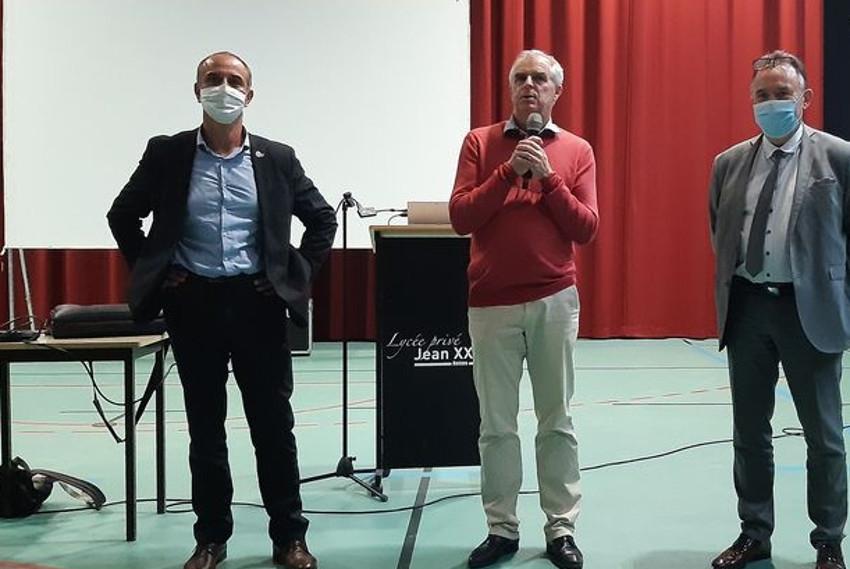 Le come-back de Marc BESANCENEZ à Reims : l'ancien directeur de Saint-Joseph dirigera le lycée privé Jean XXIII