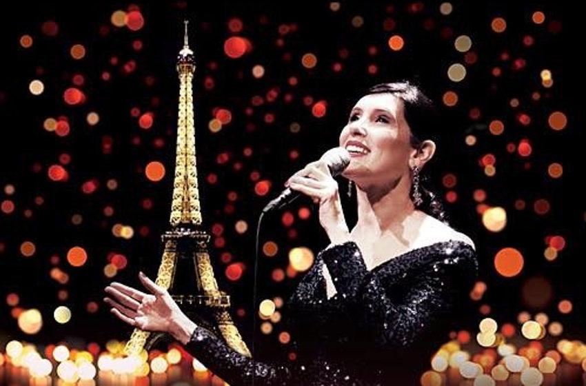 Christelle LOURY chante la ville Lumière : « ici, c'est Paris ! »…