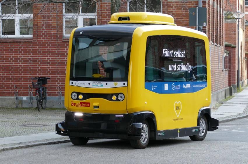 Le SDEY promeut les vertus de la mobilité durable : un véhicule autonome bientôt testé sur la Colline éternelle…
