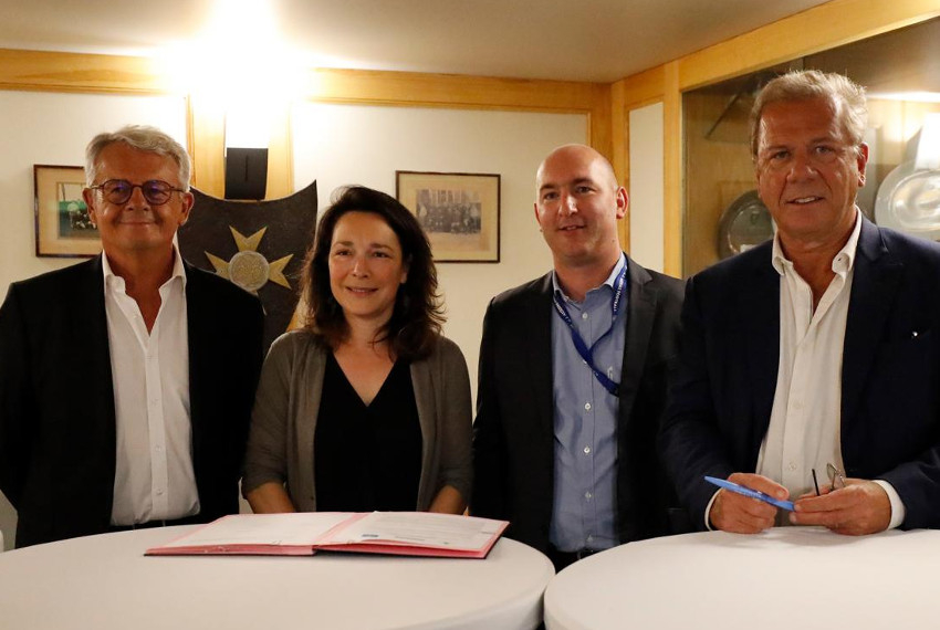 Le partenariat entre l'AJ Auxerre, DOMANYS et ACADOMIA est reconduit : les enfants peuvent leur dire merci !