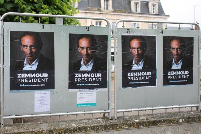 Un air de présidentielle avant l'heure : les supporters d'Eric ZEMMOUR affichent déjà leurs prétentions !