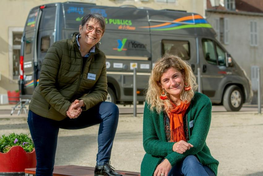 Le bus des Services Publics de l'Yonne fera une étape à Courson-les-Carrières : l'itinérance d'un guichet unique…