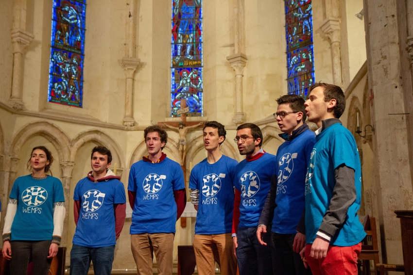 Le chœur étudiant des WEMPS interprétera MOZART et du gospel sur le Vermentonnais