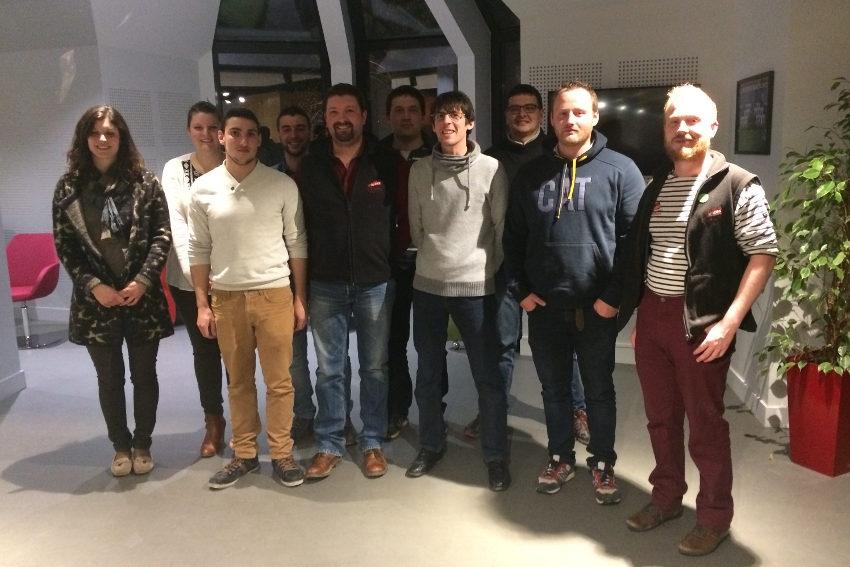 Des projets plein la tête, Maxime BOUCHER accède à 23 ans à la présidence des Jeunes Agriculteurs de l'Yonne