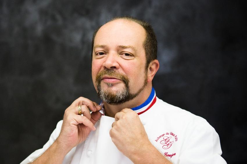 Il parraine l'un des prestigieux concours culinaire : Gilles GOUJON, itinéraire d'un chef au sommet de son art…