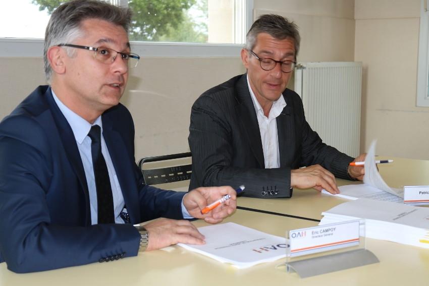 Quartier Saint-Siméon : l'OAH engage une nouvelle tranche de travaux sur le réseau de chaleur…